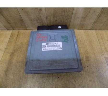 Электронный блок управления двигателем, 2.0 TDI, Volkswagen Passat B6, 03G906018CE, 5WP45610AC