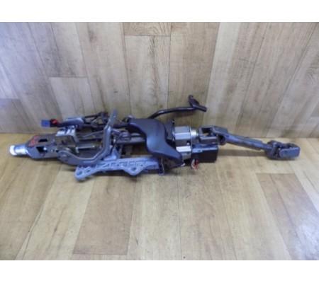 Рулевая колонка + карданчик рулевого вала + блокировка колонки, Volkswagen Passat B6, 3C2419501M, 3C0905861F, 3C0971616C